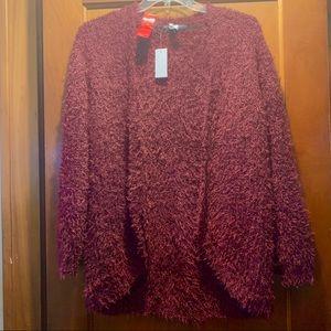 Kenzie fuzzy cardigan medium